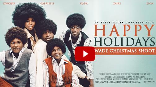 Jackson 5 Christmas.Elite Media Concepts The Wades Jackson 5 Christmas Shoot Lol